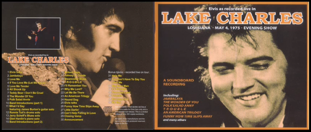 Elvis As Recorded Live In Lake Charles - Elvis new DVD and