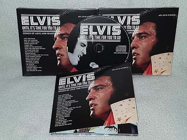 Songs - Elvis new DVD and CDs Elvis Presley FTD Bootleg Import CD