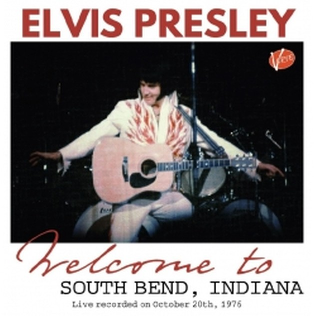 Welcome To South Bend, Indiana CD - Elvis new DVD and CDs