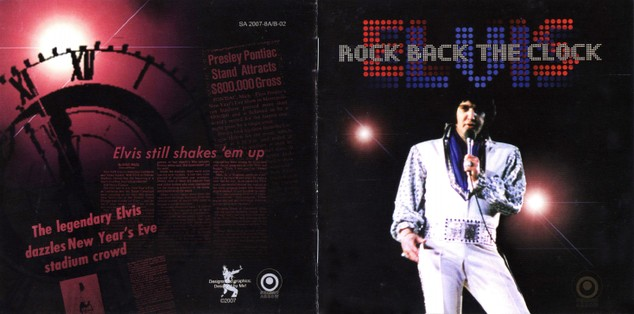 Elvis Rock Back The Clock Pontiac Silverdome 1975 live CD